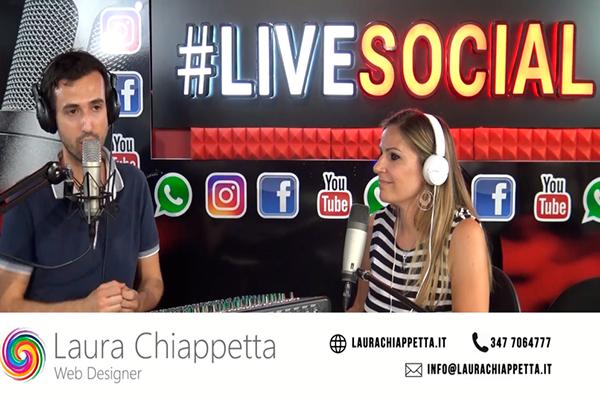La mia intervista a Live Social